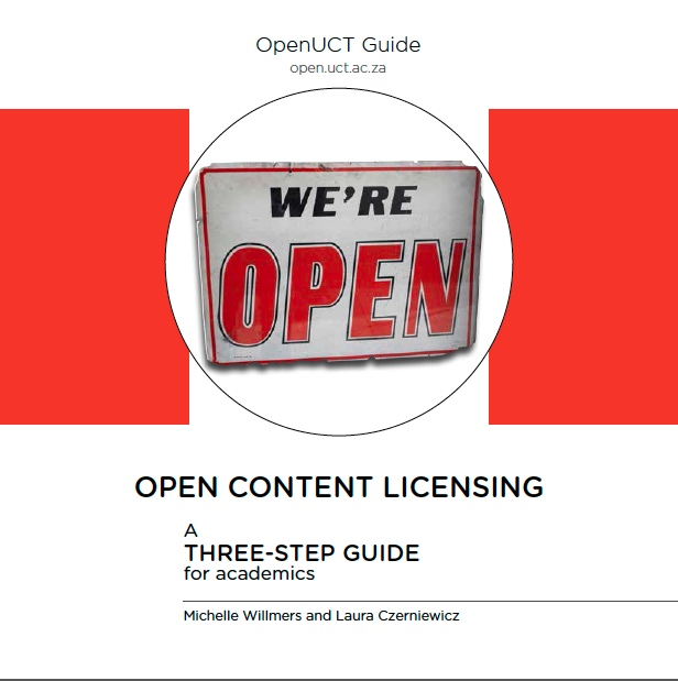OpenUCT-Licensing-Guide-Cover