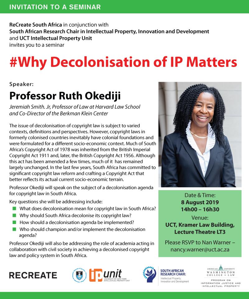 UCT IP Unit   Development  Innovation  Public Policy